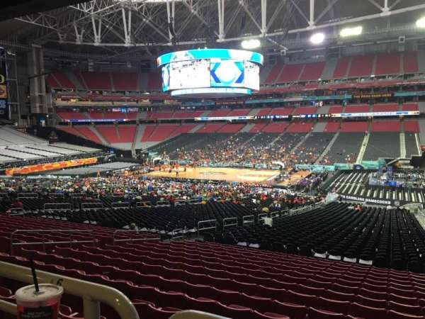 University Of Phoenix Stadium, section: 126, row: WC, seat: 4