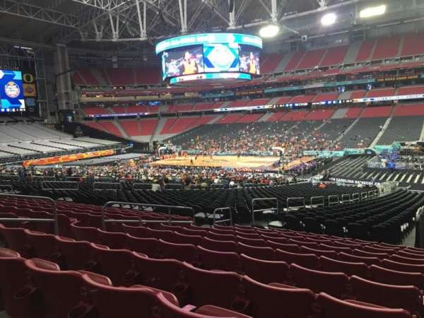 University of Phoenix Stadium, section: 125, row: 36, seat: 36