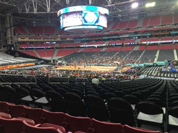 University of Phoenix Stadium, section: 126, row: 29, seat: 8