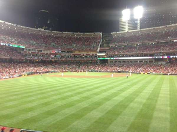 Great American Ball Park, section: 144, row: I, seat: 14