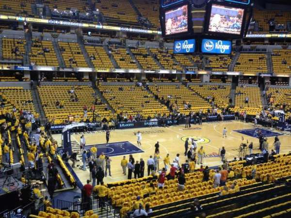 Bankers Life Fieldhouse, section: 119, row: 1, seat: 8