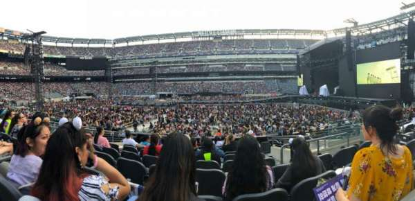MetLife Stadium, section: 112, row: 11, seat: 5