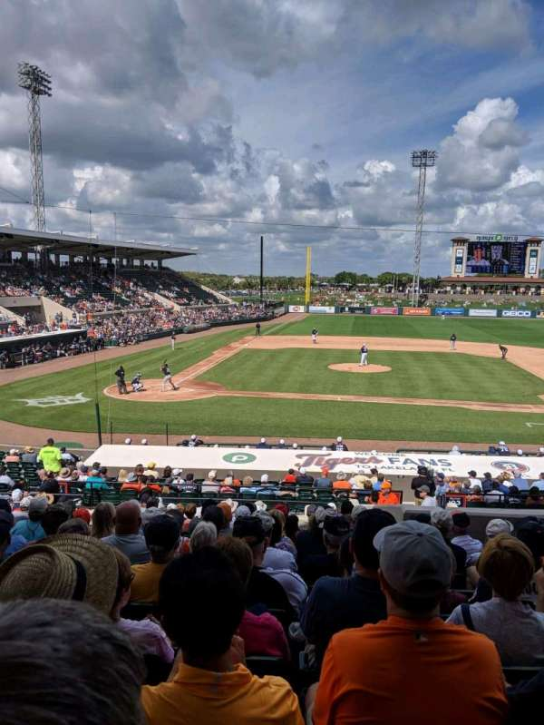 Joker Marchant Stadium, section: 203, row: P, seat: 20