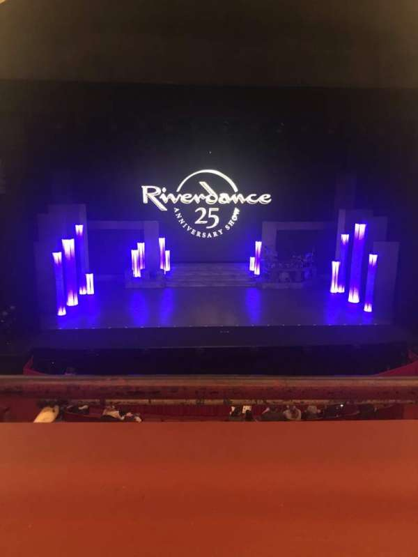 Cadillac Palace Theater, section: LOGE C, row: A, seat: 311