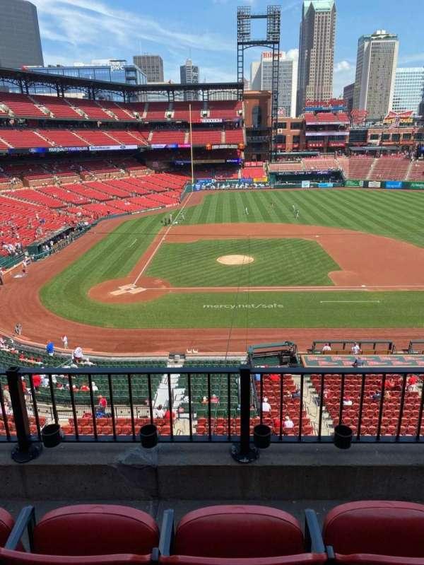 Busch Stadium, section: 245, row: 3, seat: 5