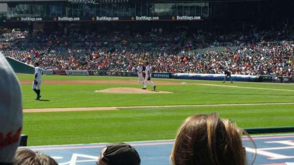 Comerica Park, section: 135, row: 11