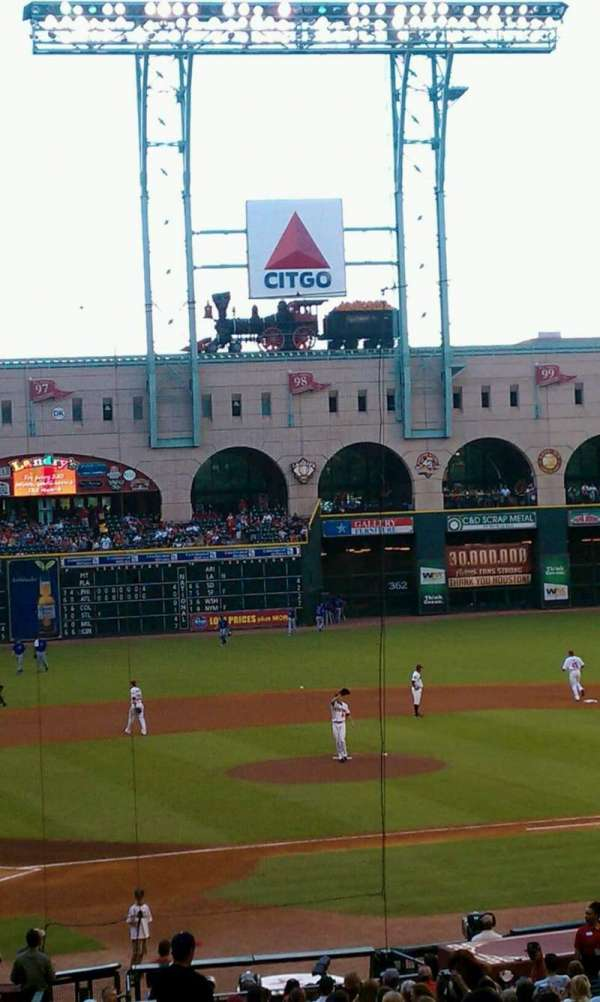 Minute Maid Park, section: 122, row: 30, seat: 32