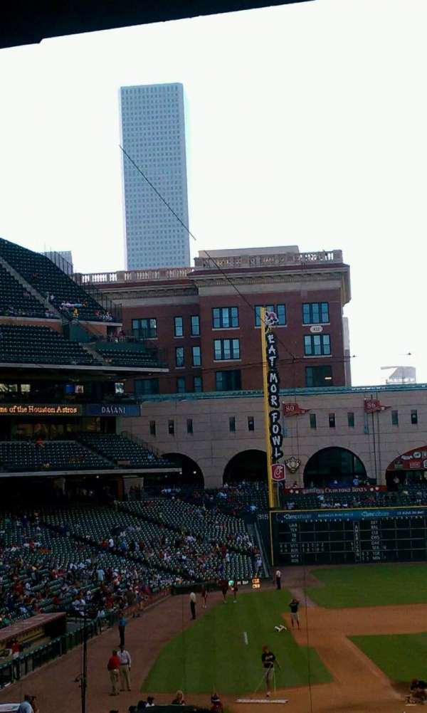 Minute Maid Park, section: 222