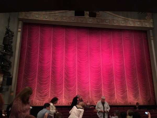Broadhurst Theatre, section: Orchestra C, row: M, seat: 102