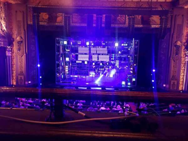 Hollywood Pantages Theatre, section: Mezzanine C, row: A, seat: 108