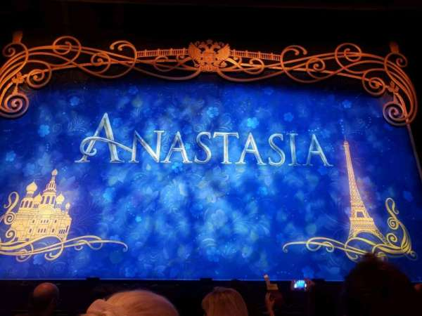 Hollywood Pantages Theatre, section: Orchestra C, row: D, seat: 107, 108