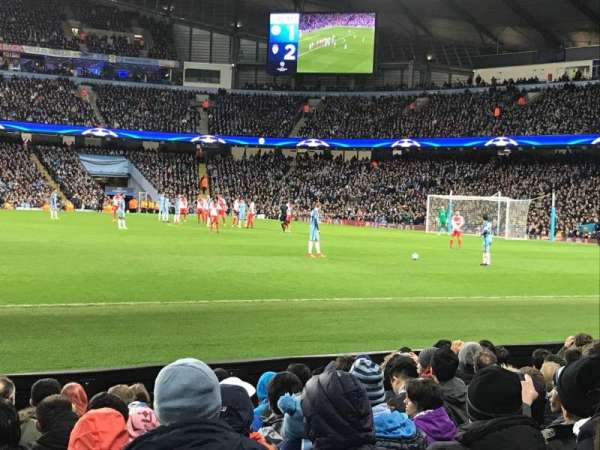 Etihad Stadium (Manchester), section: 105, row: H, seat: 97