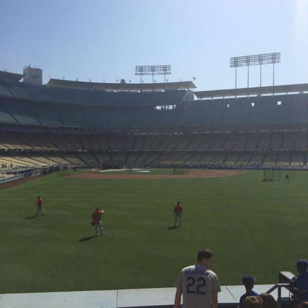 Dodger Stadium, section: 304PL, row: F, seat: 15-16