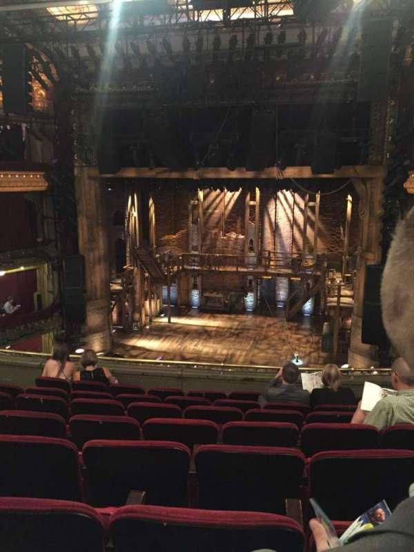 CIBC Theatre, section: Mezzanine RC, row: H, seat: 314