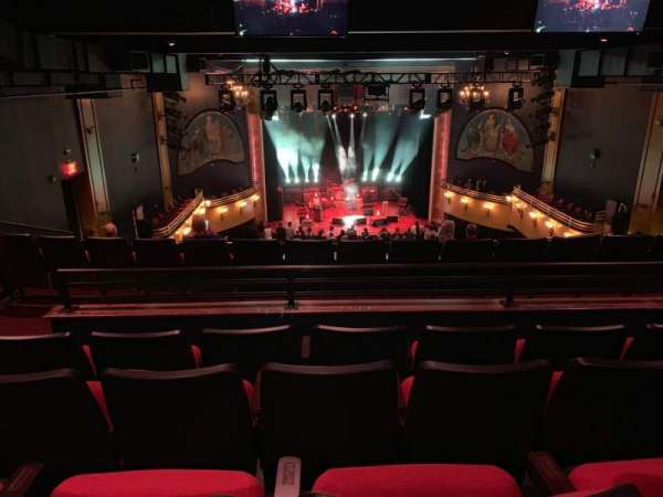 Wall Street Theater, section: Balcony, row: L, seat: 109