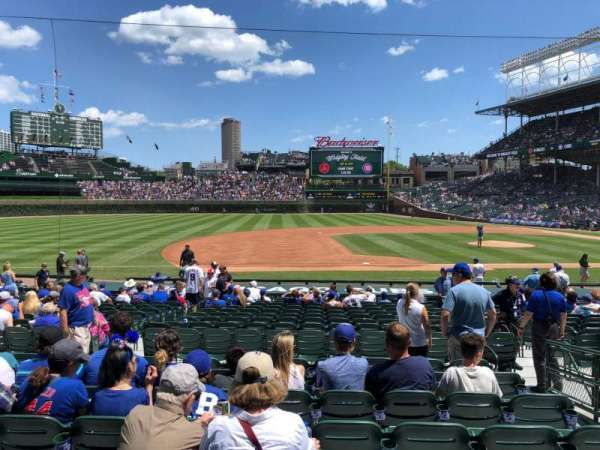 Wrigley Field, section: 110, row: 8, seat: 12