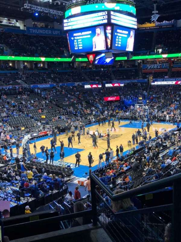Chesapeake Energy Arena, section: 227, row: C, seat: 10