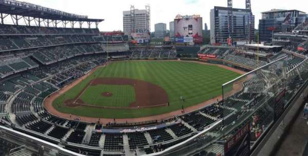 SunTrust Park, section: 420, row: 1, seat: 1