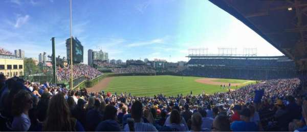 Wrigley Field, section: 202, row: 14, seat: 8
