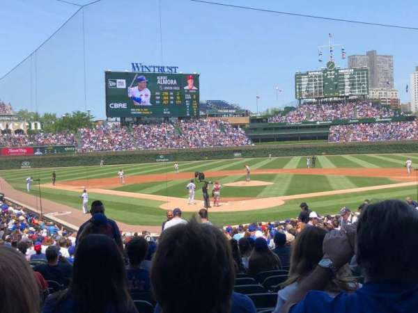 Wrigley Field, section: 118, row: 12
