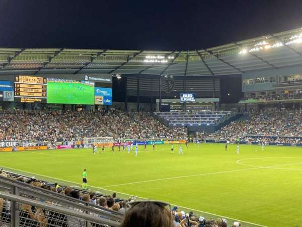 Children's Mercy Park, section: 132, row: 15, seat: 7