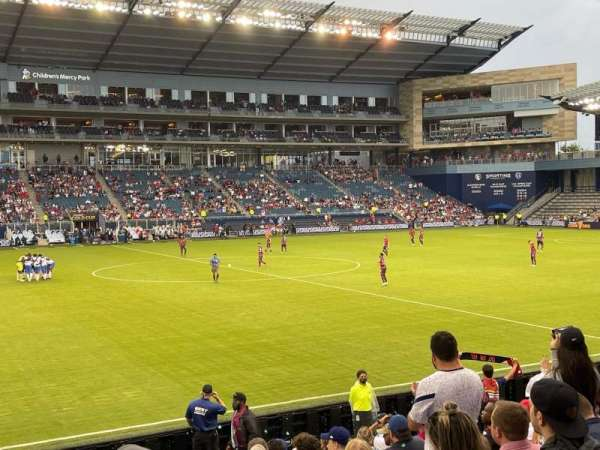 Children's Mercy Park, section: 128, row: 13, seat: 9