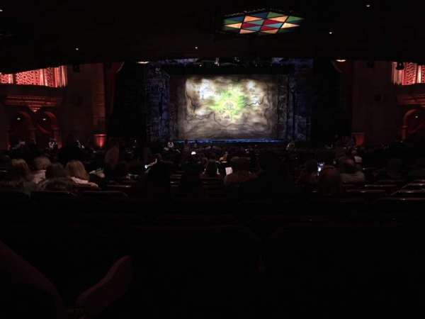 Fox Theatre (Atlanta), section: Orchestra C, row: LL, seat: 110