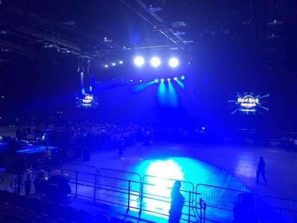 Hard Rock Live at Etess Arena, section: 205, row: H, seat: 5