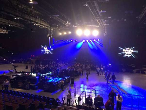 Hard Rock Live at Etess Arena, section: 206, row: M, seat: 8