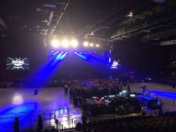 Hard Rock Live at Etess Arena, section: 209, row: O, seat: 4