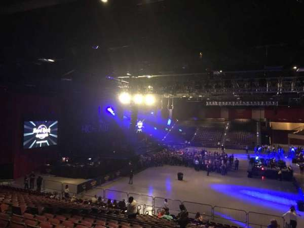 Hard Rock Live at Etess Arena, section: 212, row: V, seat: 1