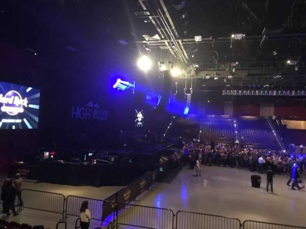 Hard Rock Live at Etess Arena, section: 213, row: J, seat: 7