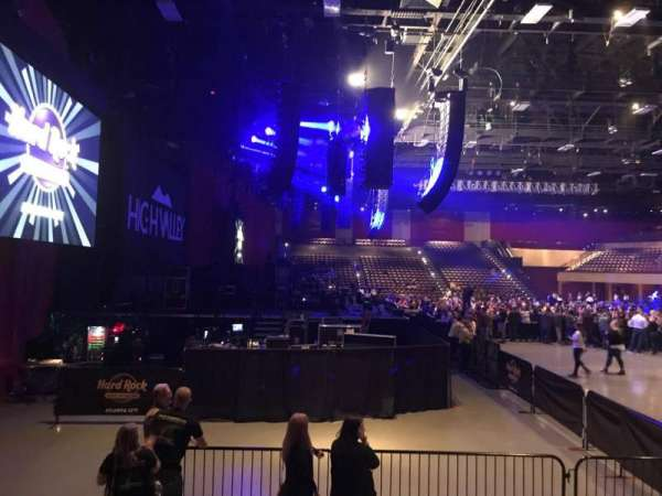 Hard Rock Live at Etess Arena, section: 214, row: E, seat: 10