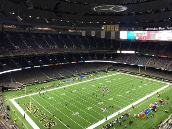Mercedes-Benz Superdome, section: 622, row: 22, seat: 10