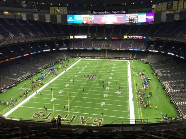Mercedes-Benz Superdome, section: 625, row: 21, seat: 11