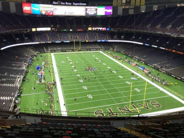 Caesars Superdome, section: 630, row: 19, seat: 7