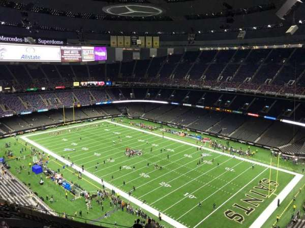 Caesars Superdome, section: 633, row: 25, seat: 23