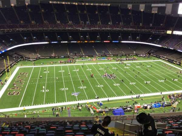 Mercedes-Benz Superdome, section: 643, row: 20, seat: 4