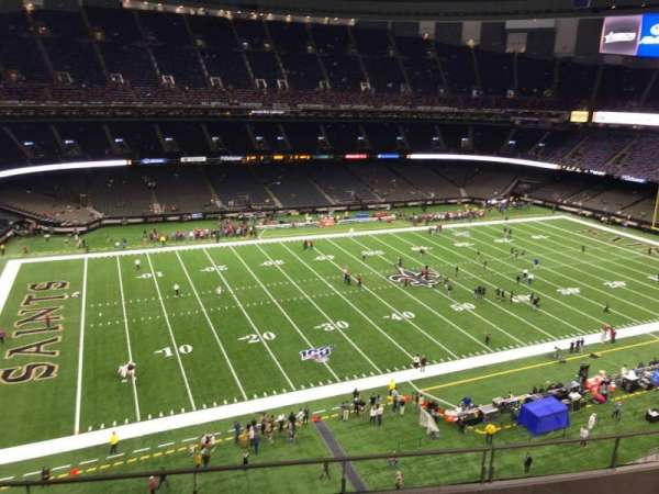 Mercedes-Benz Superdome, section: 553, row: 6, seat: 15