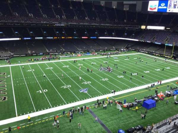 Mercedes-Benz Superdome, section: 554, row: 2, seat: 4