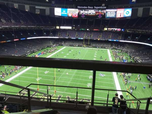Caesars Superdome, section: 651, row: 6, seat: 17