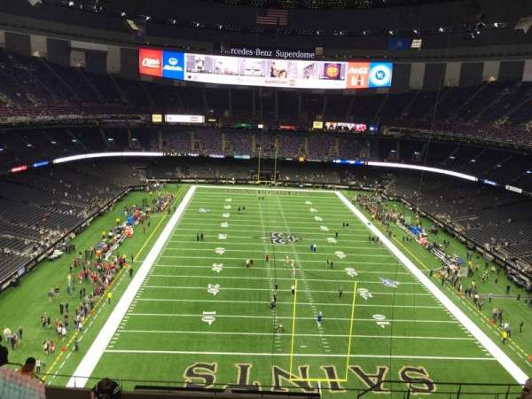 Caesars Superdome, section: 602, row: 12, seat: 7