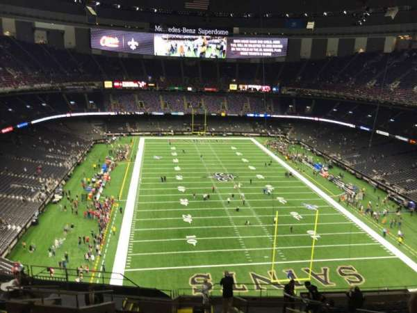 Caesars Superdome, section: 603, row: 16, seat: 8