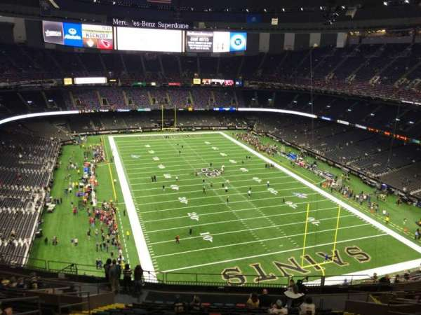 Mercedes-Benz Superdome, section: 604, row: 19, seat: 14