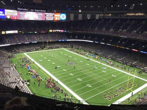 Caesars Superdome, section: 606, row: 25, seat: 22