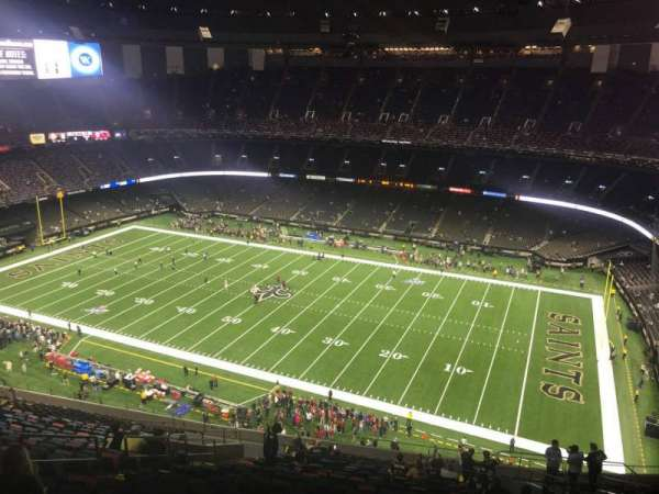 Mercedes-Benz Superdome, section: 610, row: 26, seat: 14