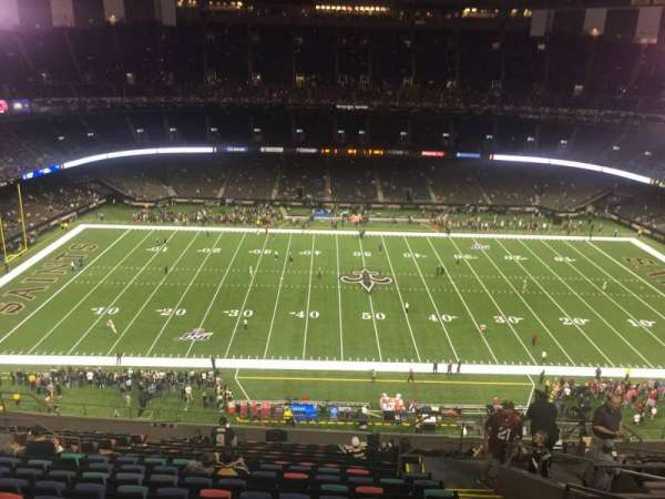 Mercedes-Benz Superdome, section: 615, row: 18, seat: 4