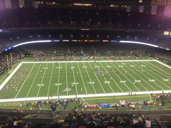 Mercedes-Benz Superdome, section: 616, row: 22, seat: 15