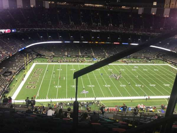 Caesars Superdome, section: 617, row: 26, seat: 5