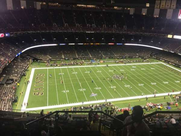 Mercedes-Benz Superdome, section: 618, row: 29, seat: 3